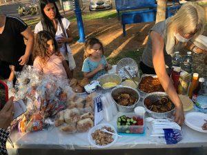 פעילות העצמה וארוחה חמה בחודשי הקיץ